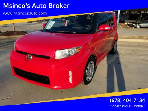 2014 Scion xB for sale at Msinco's Auto Broker in Snellville GA