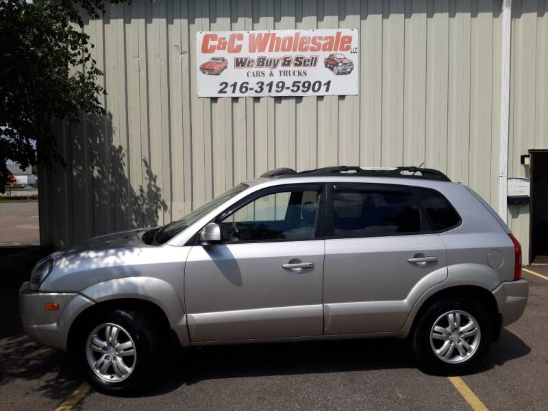 2006 Hyundai Tucson for sale at C & C Wholesale in Cleveland OH