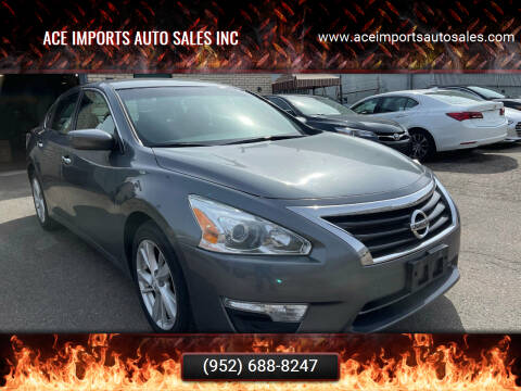 2014 Nissan Altima for sale at ACE IMPORTS AUTO SALES INC in Hopkins MN