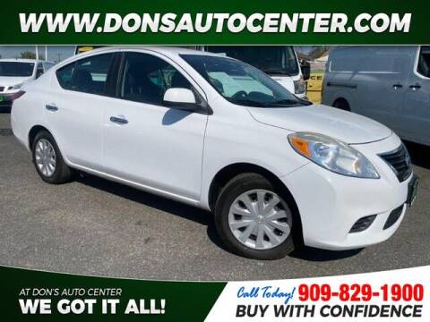 2013 Nissan Versa for sale at Dons Auto Center in Fontana CA