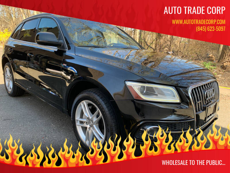 2013 Audi Q5 for sale at AUTO TRADE CORP in Nanuet NY