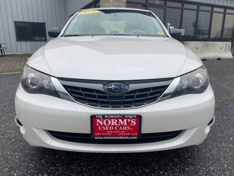 2008 Subaru Impreza for sale at Norm's Used Cars INC. in Wiscasset ME