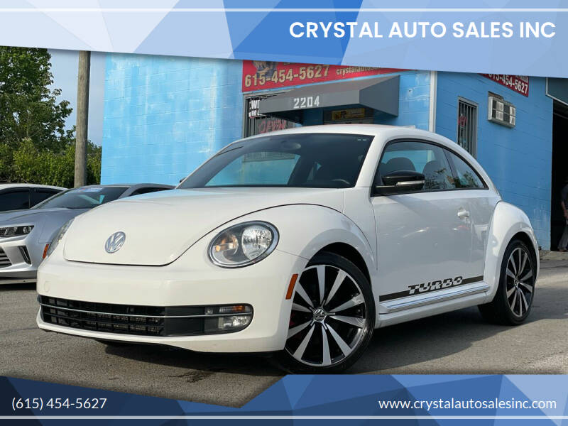 2012 Volkswagen Beetle for sale at Crystal Auto Sales Inc in Nashville TN