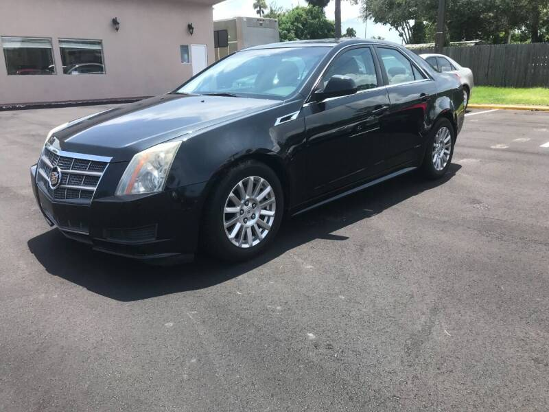 2011 Cadillac CTS for sale at AutoVenture in Holly Hill FL