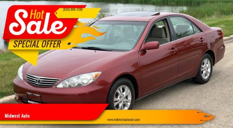 2005 Toyota Camry for sale at Midwest Auto in Naperville IL