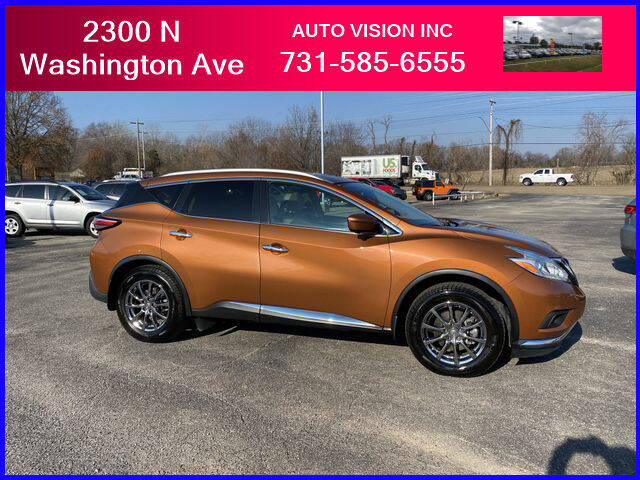 2016 Nissan Murano for sale at Auto Vision Inc. in Brownsville TN
