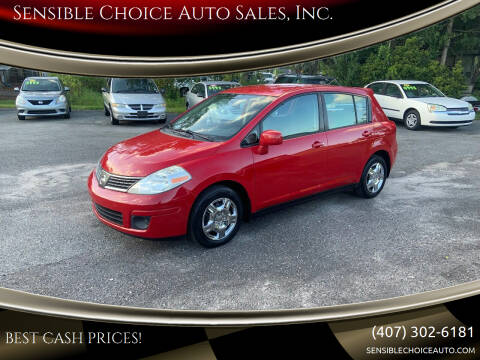 2009 Nissan Versa for sale at Sensible Choice Auto Sales, Inc. in Longwood FL