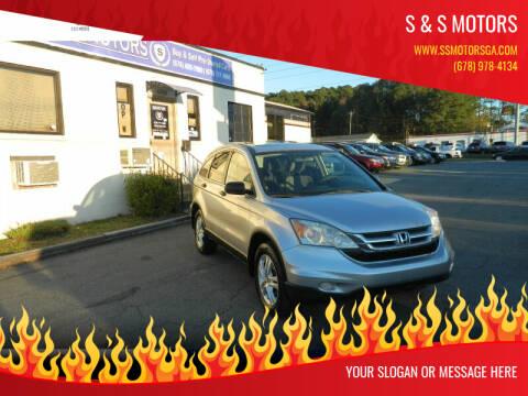 2011 Honda CR-V for sale at S & S Motors in Marietta GA