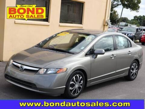 2007 Honda Civic for sale at Bond Auto Sales in St Petersburg FL