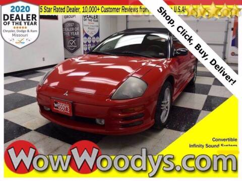 2002 Mitsubishi Eclipse Spyder for sale at WOODY'S AUTOMOTIVE GROUP in Chillicothe MO