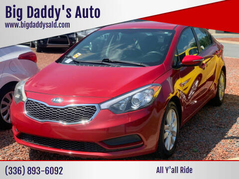 2014 Kia Forte for sale at Big Daddy's Auto in Winston-Salem NC
