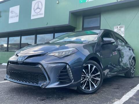 2018 Toyota Corolla for sale at KARZILLA MOTORS in Oakland Park FL