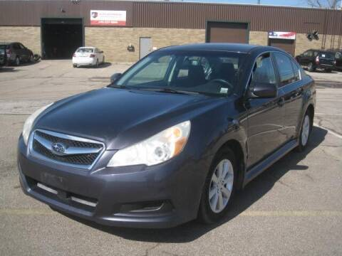 2010 Subaru Legacy for sale at ELITE AUTOMOTIVE in Euclid OH