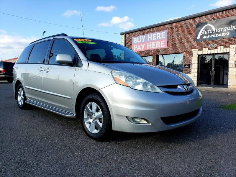 2008 Toyota Sienna for sale at AUTO BARGAIN, INC. #2 in Oklahoma City OK