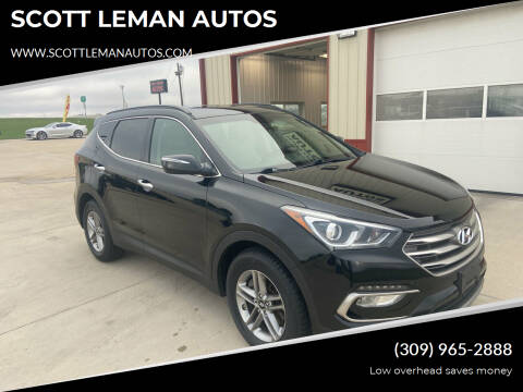 2017 Hyundai Santa Fe Sport for sale at SCOTT LEMAN AUTOS in Goodfield IL