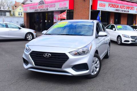 2021 Hyundai Accent for sale at Foreign Auto Imports in Irvington NJ