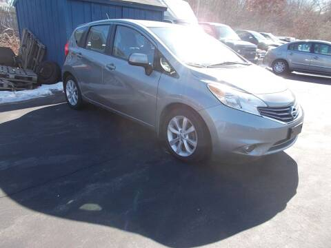 2014 Nissan Versa Note for sale at MATTESON MOTORS in Raynham MA