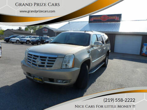 2007 Cadillac Escalade ESV for sale at Grand Prize Cars in Cedar Lake IN