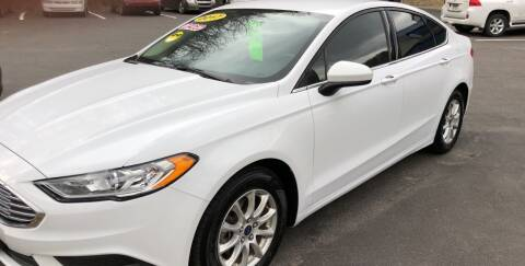 2017 Ford Fusion for sale at WHARTON'S AUTO SVC & USED CARS in Wheeling WV
