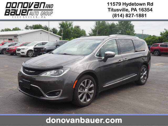 2017 Chrysler Pacifica for sale in Titusville, PA