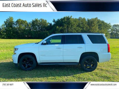 2015 Chevrolet Tahoe for sale at East Coast Auto Sales llc in Virginia Beach VA