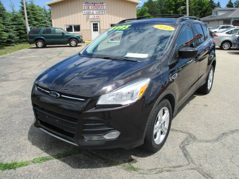 2013 Ford Escape for sale at Richfield Car Co in Hubertus WI