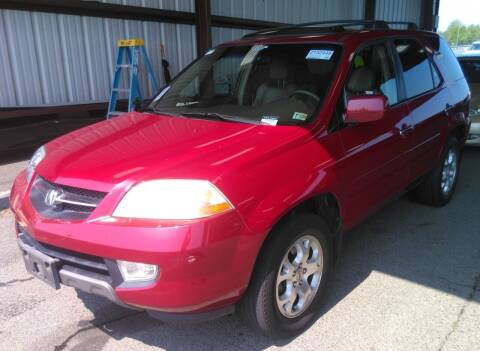 2002 Acura MDX for sale at Angelo's Auto Sales in Lowellville OH