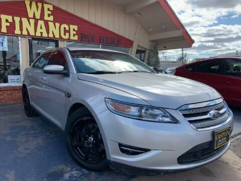 2011 Ford Taurus for sale at Caspian Auto Sales in Oklahoma City OK