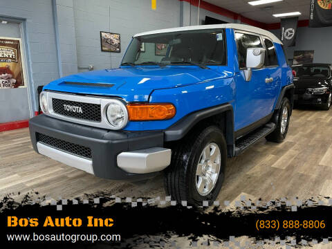 2007 Toyota FJ Cruiser for sale at Bos Auto Inc in Quincy MA