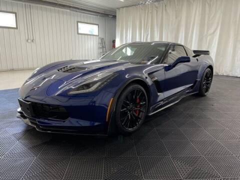 2017 Chevrolet Corvette for sale at Monster Motors in Michigan Center MI