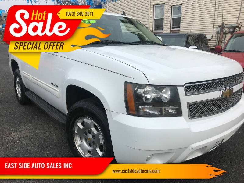 2010 Chevrolet Tahoe for sale at EAST SIDE AUTO SALES INC in Paterson NJ