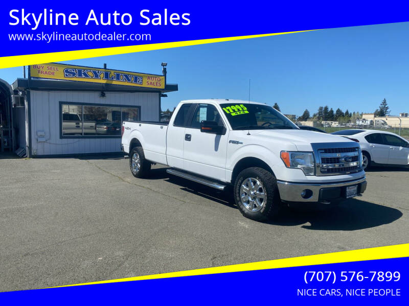 2014 Ford F-150 for sale at Skyline Auto Sales in Santa Rosa CA