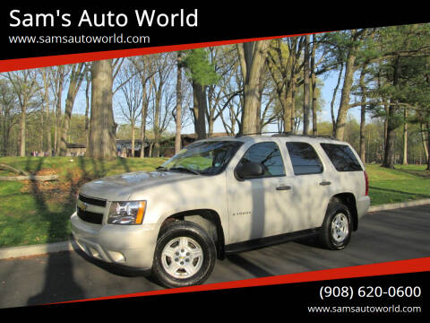 2007 Chevrolet Tahoe for sale at Sam's Auto World in Roselle NJ