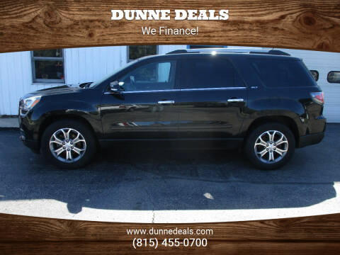 2014 GMC Acadia for sale at Dunne Deals in Crystal Lake IL