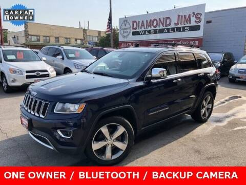 2014 Jeep Grand Cherokee for sale at Diamond Jim's West Allis in West Allis WI
