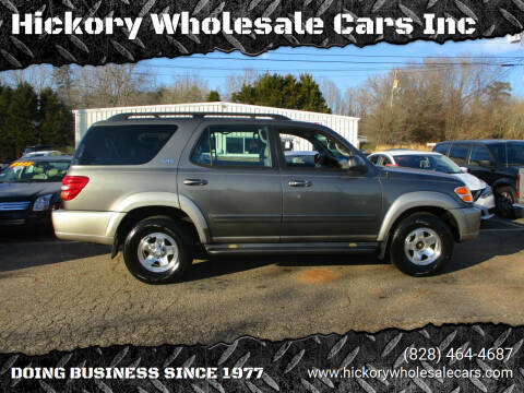 2003 Toyota Sequoia for sale at Hickory Wholesale Cars Inc in Newton NC