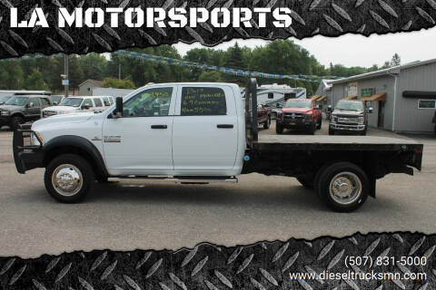 2017 RAM Ram Chassis 5500 for sale at LA MOTORSPORTS in Windom MN