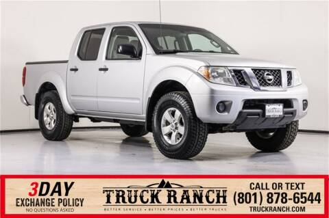 2012 Nissan Frontier for sale at Truck Ranch in American Fork UT
