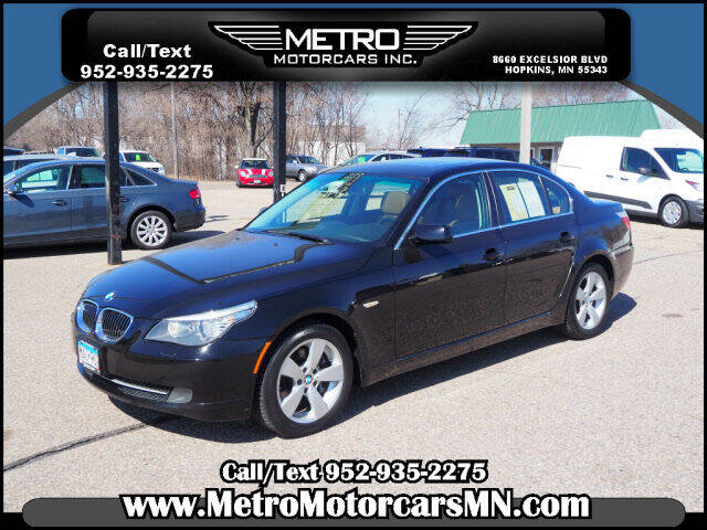 2008 BMW 5 Series for sale at Metro Motorcars Inc in Hopkins MN