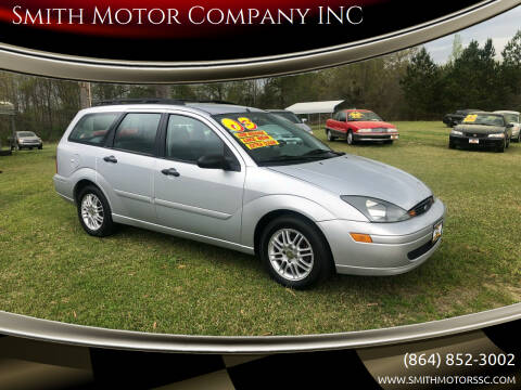 2003 Ford Focus for sale at Smith Motor Company INC in Mc Cormick SC