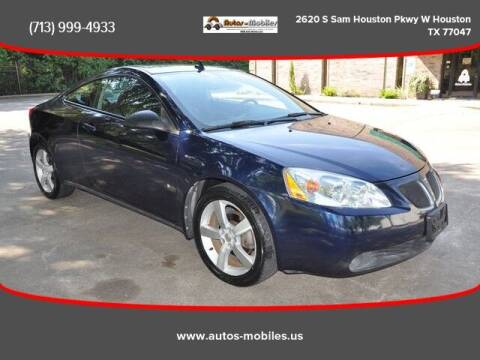 2008 Pontiac G6 for sale at AUTOS-MOBILES in Houston TX