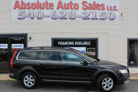 2012 Volvo XC70 for sale at Absolute Auto Sales in Fredericksburg VA