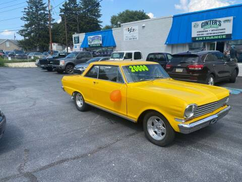 1963 Chevrolet Nova for sale at Ginters Auto Sales in Camp Hill PA
