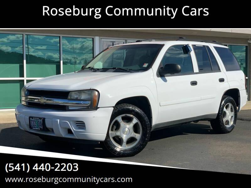 2006 Chevrolet TrailBlazer for sale at Roseburg Community Cars in Roseburg OR