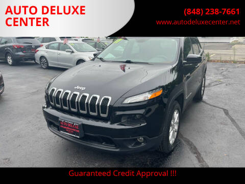 2017 Jeep Cherokee for sale at AUTO DELUXE CENTER in Toms River NJ