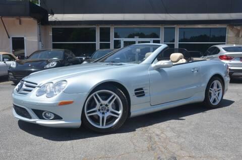 2007 Mercedes-Benz SL-Class for sale at Amyn Motors Inc. in Tucker GA