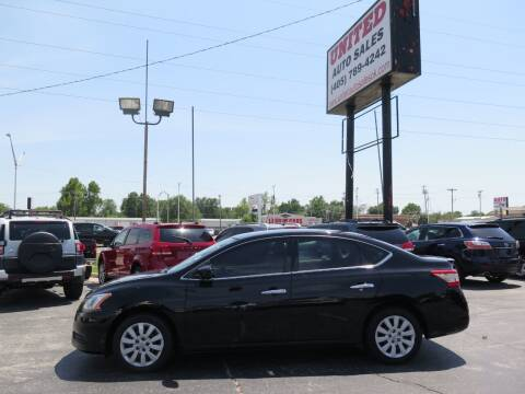 2014 Nissan Sentra for sale at United Auto Sales in Oklahoma City OK
