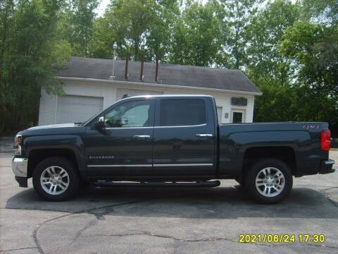 2018 Chevrolet Silverado 1500 for sale at Northport Motors LLC in New London WI
