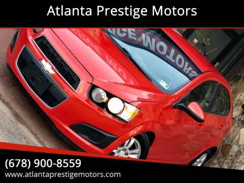 2012 Chevrolet Sonic for sale at Atlanta Prestige Motors in Decatur GA
