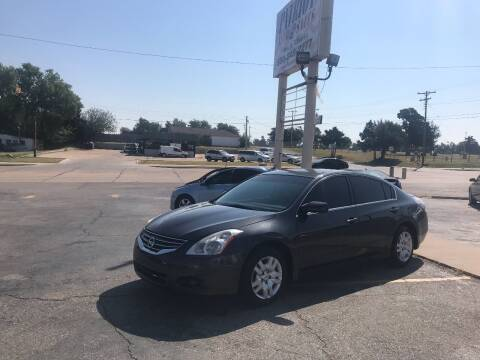 2011 Nissan Altima for sale at Patriot Auto Sales in Lawton OK